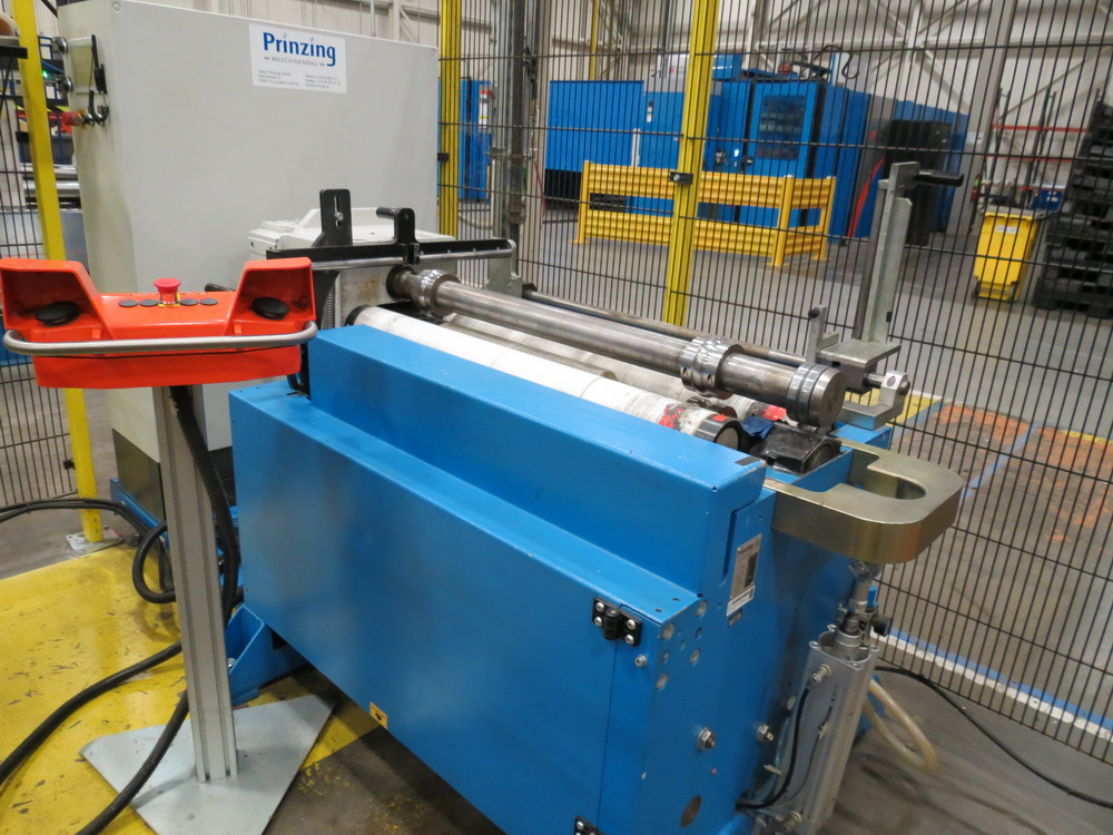 "2015 Prinzing RBA 100/93 4-Roll Bead Forming Machine, .059"" x 36.6"" capacity - Image 2 of 14"