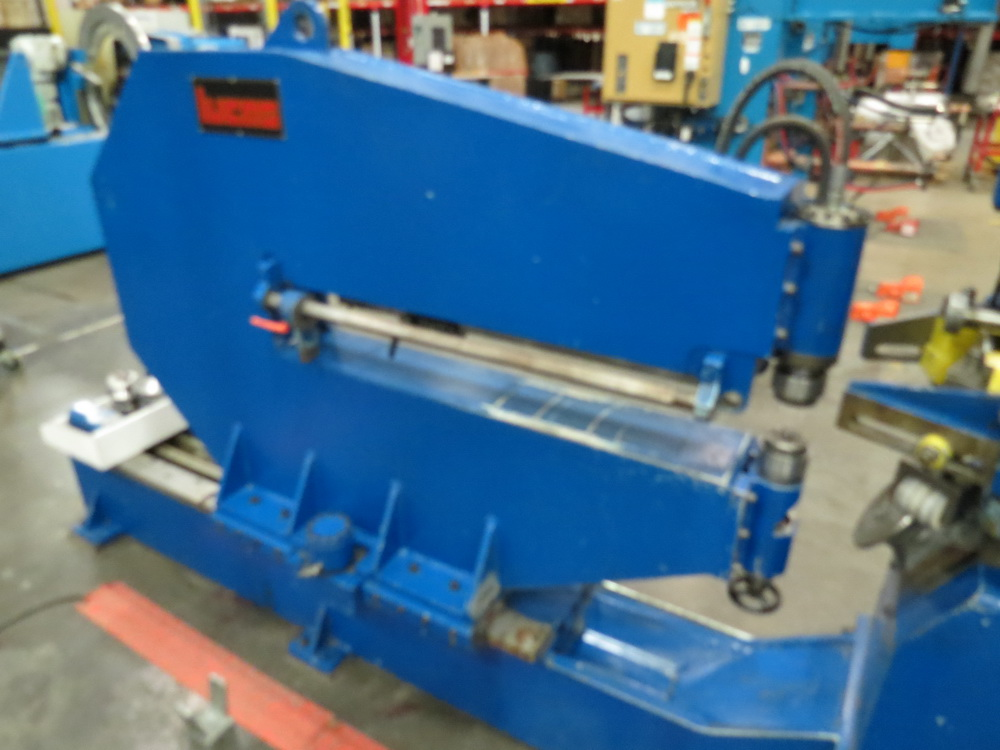 "2014 Lucas Model 6-1800 Shear and Beading Machine, 70"" max. diameter - Image 7 of 13"
