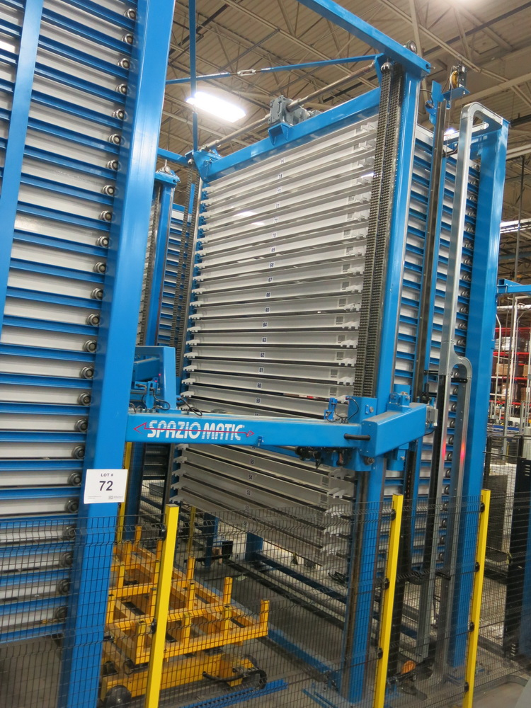 Lot 72 - 2017 Sideros Spaziomatic Material Storage and Delivery System