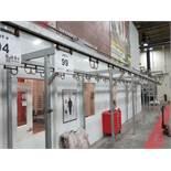 Paint Line Parts Conveyor 8 FPM Line Speed, 887' Conveyor