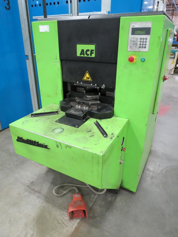 2014 ACF Engineering Model MF-50-313 Corner Former/Shear w/ Panelware Digital Controls