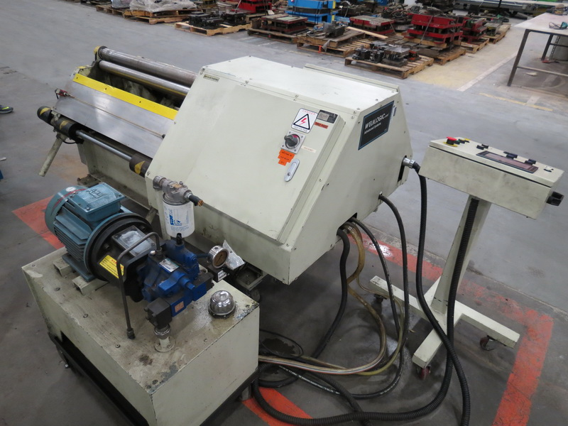 "Weld Logic Model 4R-PB 4-Roll Roller, Max Width Cap. 36"" w/ Weinview Digital Controls - Image 6 of 10"
