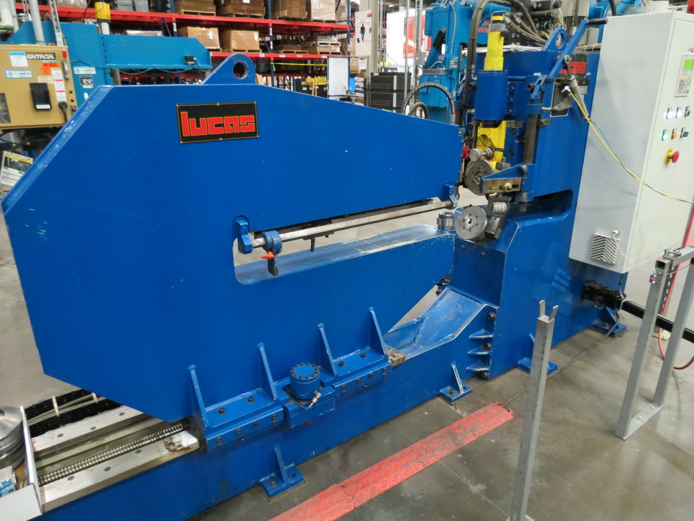 "2014 Lucas Model 6-1800 Shear and Beading Machine, 70"" max. diameter - Image 5 of 13"