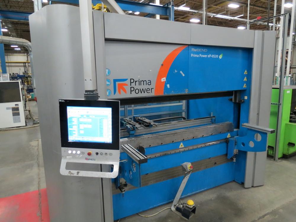 2014 Prima EP0520 2 Meter Electric Servo Press Brake