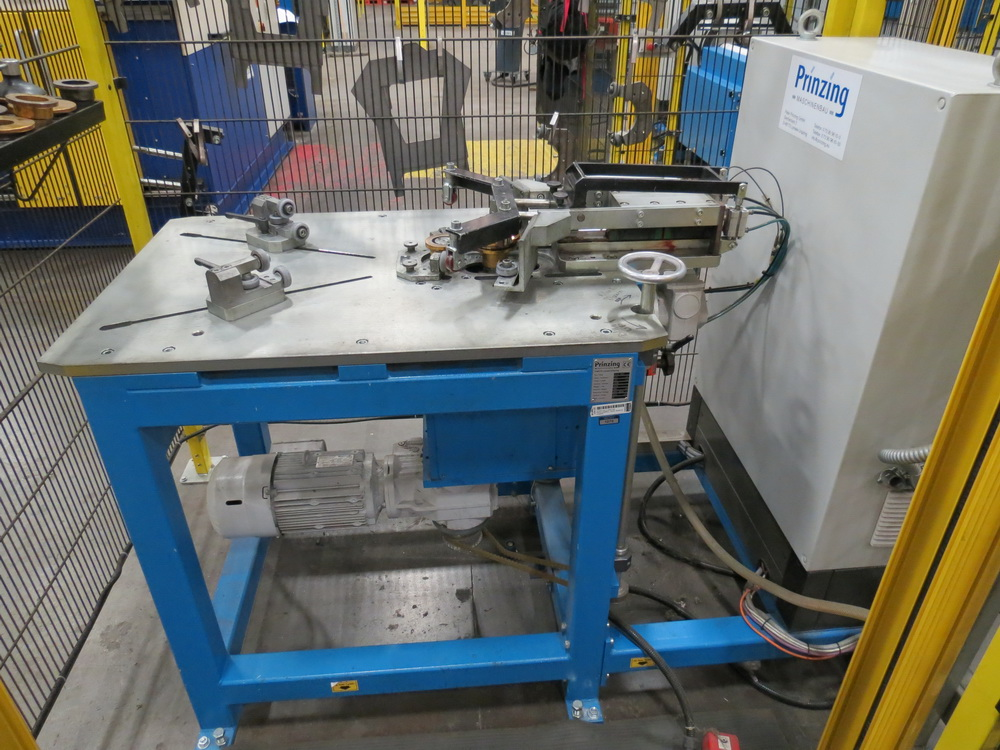 2015 Prinzing Model SME 80V Body Band Flanger, 2.0 mm Thickness, 100 mm Length
