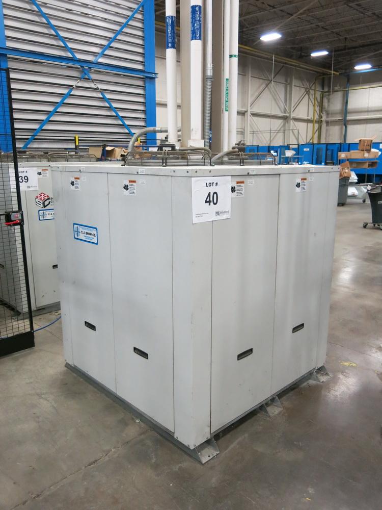 2014 Schreiber Dimplex Chiller Model SVI-15000-M, (2) 7.5 HP Compressors, (2) 3 HP Chiller Pumps