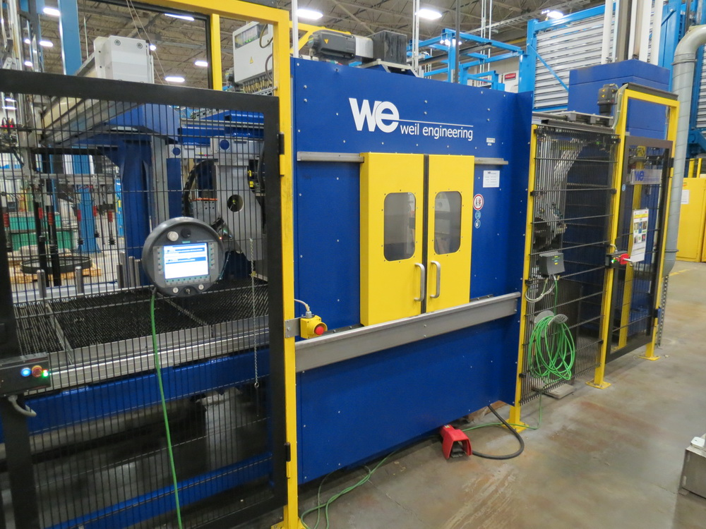 2014 Weil Technology NC Multi-roller 600/1250C Bending Machine - Image 4 of 25