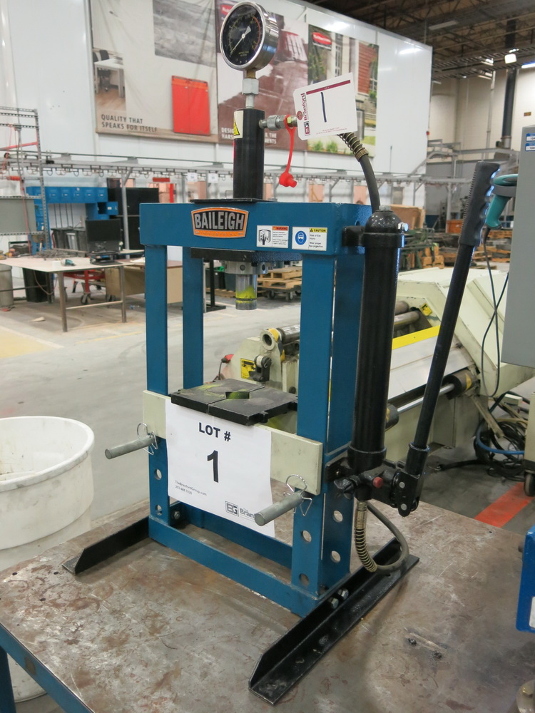 Baileigh Industrial 10-Ton Table Top H-Frame Press - Image 2 of 2