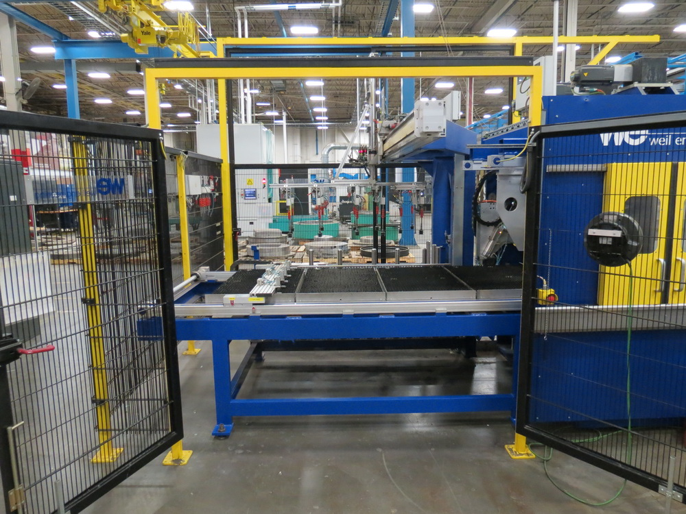 2014 Weil Technology NC Multi-roller 600/1250C Bending Machine - Image 7 of 25