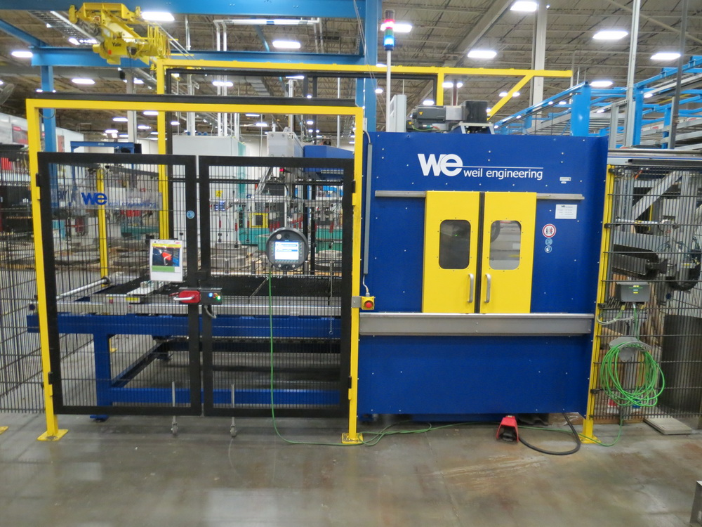 2014 Weil Technology NC Multi-roller 600/1250C Bending Machine