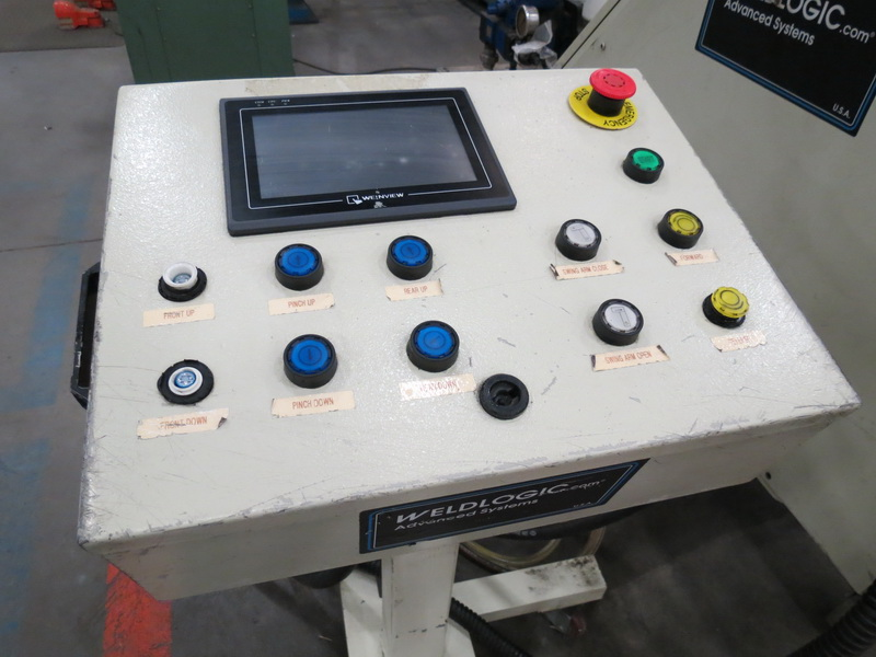 "Weld Logic Model 4R-PB 4-Roll Roller, Max Width Cap. 36"" w/ Weinview Digital Controls - Image 5 of 10"