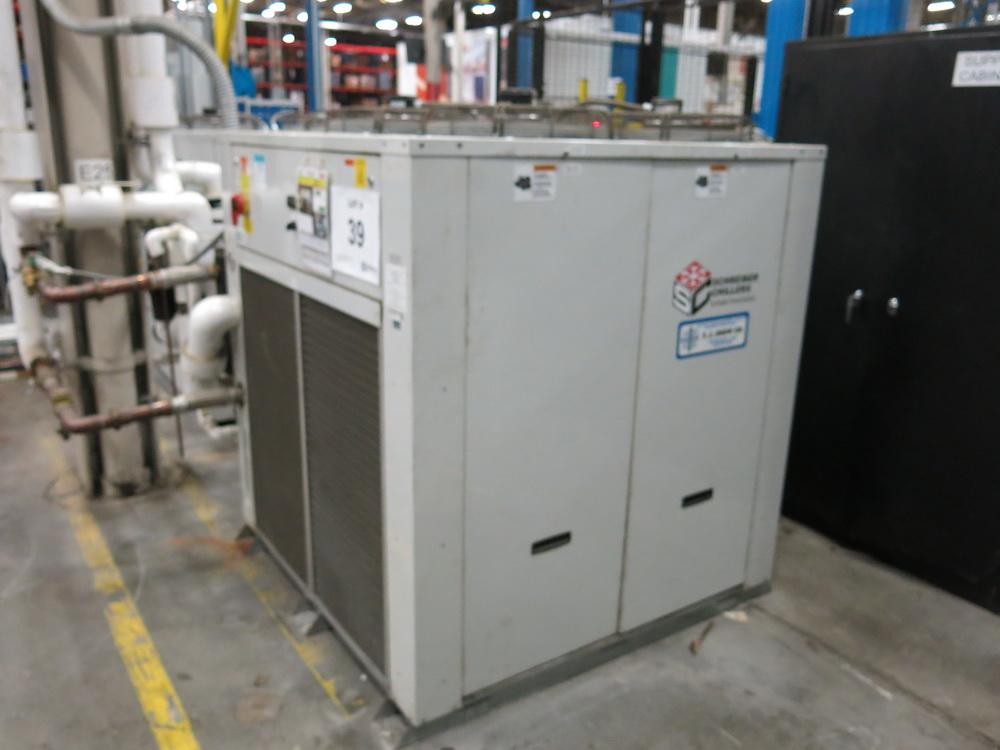 2014 Schreiber Dimplex Chiller Model 20000MC-W-M 210 HP Compressors