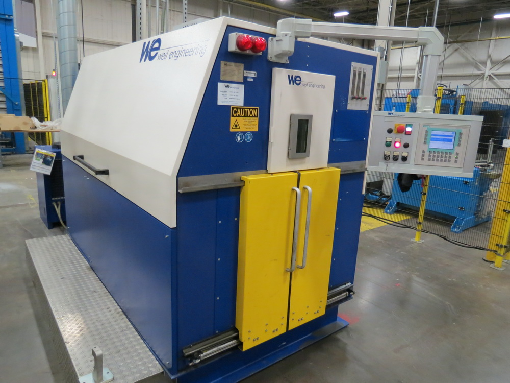 2014 Weil Technology Flexmaster 400/1250 Seam Welding Machine