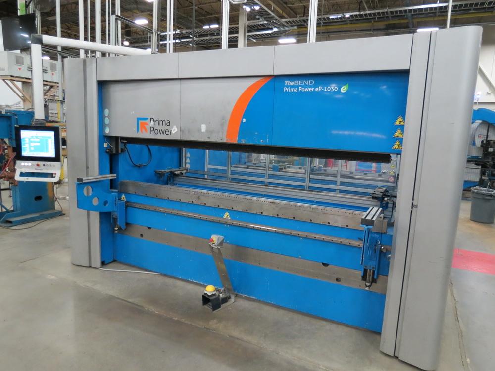 2014 Prima EP1030 3 Meter Electric Servo Press Brake - Image 4 of 14