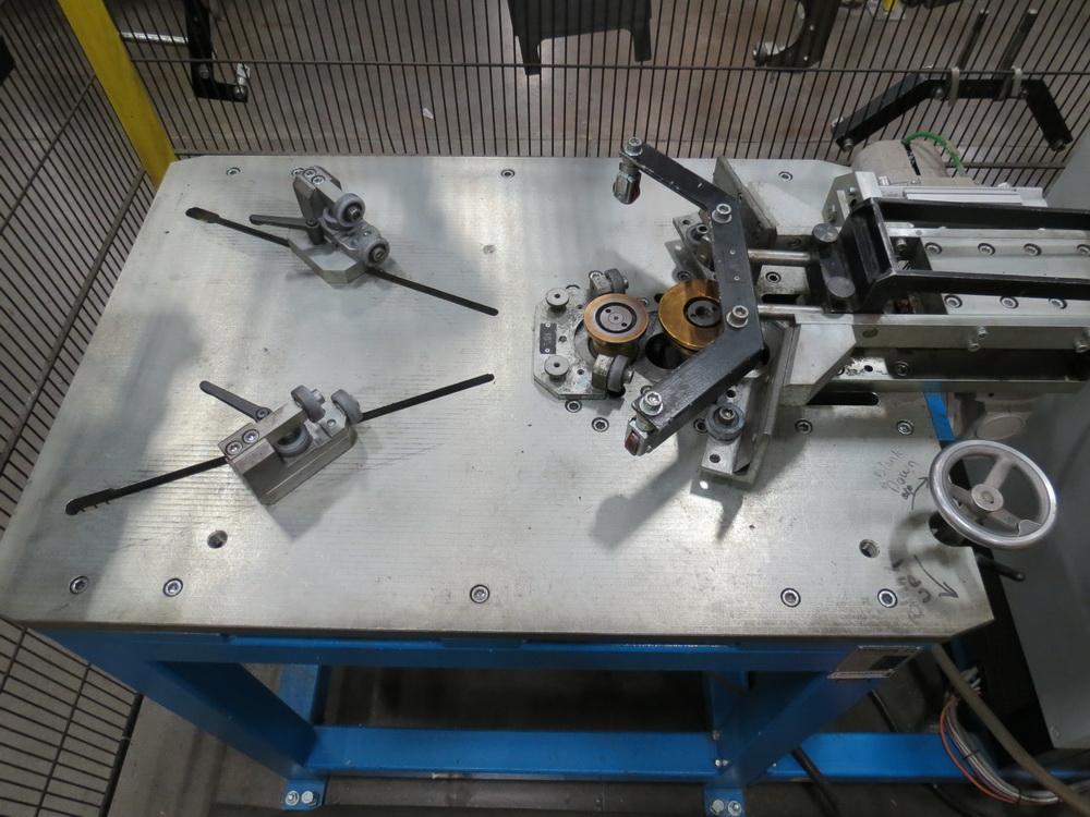 2015 Prinzing Model SME 80V Body Band Flanger, 2.0 mm Thickness, 100 mm Length - Image 3 of 13