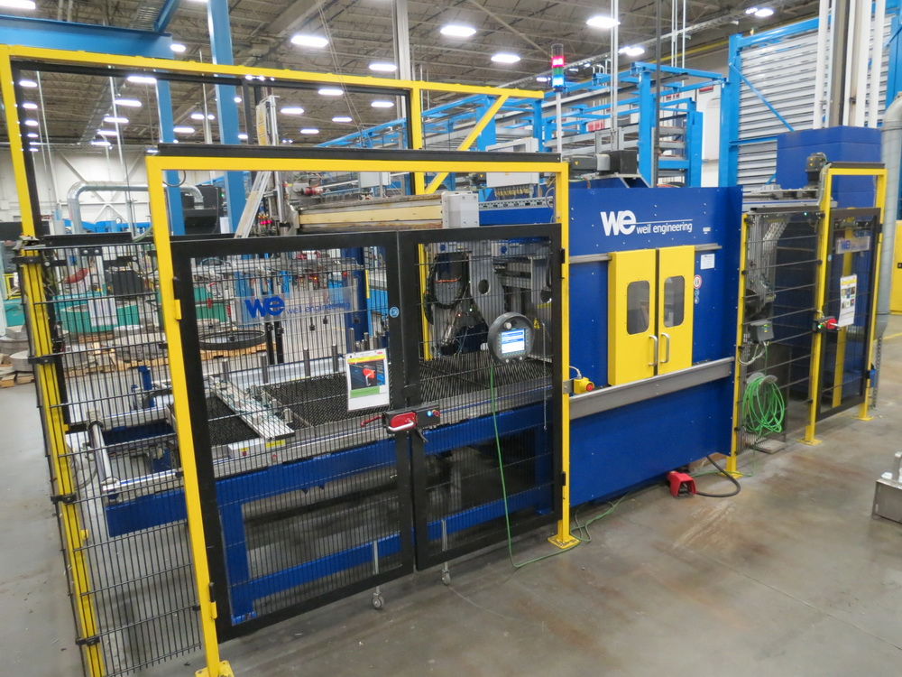 2014 Weil Technology NC Multi-roller 600/1250C Bending Machine - Image 2 of 25