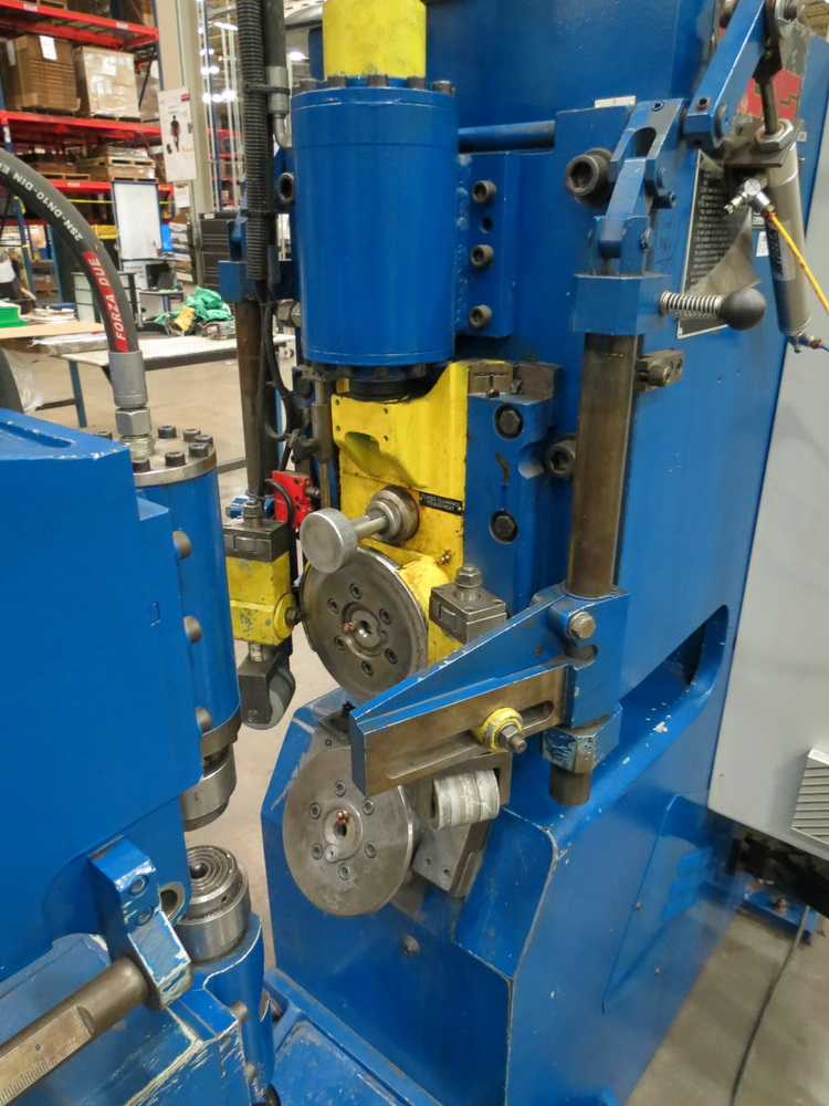 "2014 Lucas Model 6-1800 Shear and Beading Machine, 70"" max. diameter - Image 8 of 13"