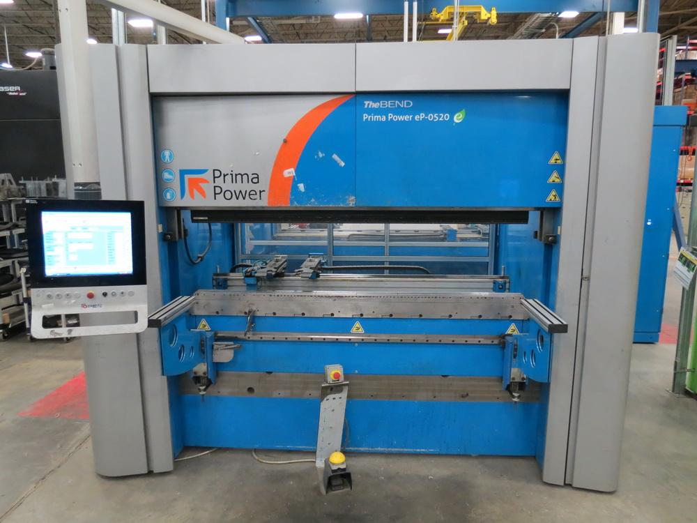 2014 Prima EP0520 2 Meter Electric Servo Press Brake - Image 3 of 15