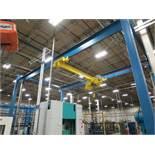 Gorbel 20' span x 7 Ton stand-alone Crane System