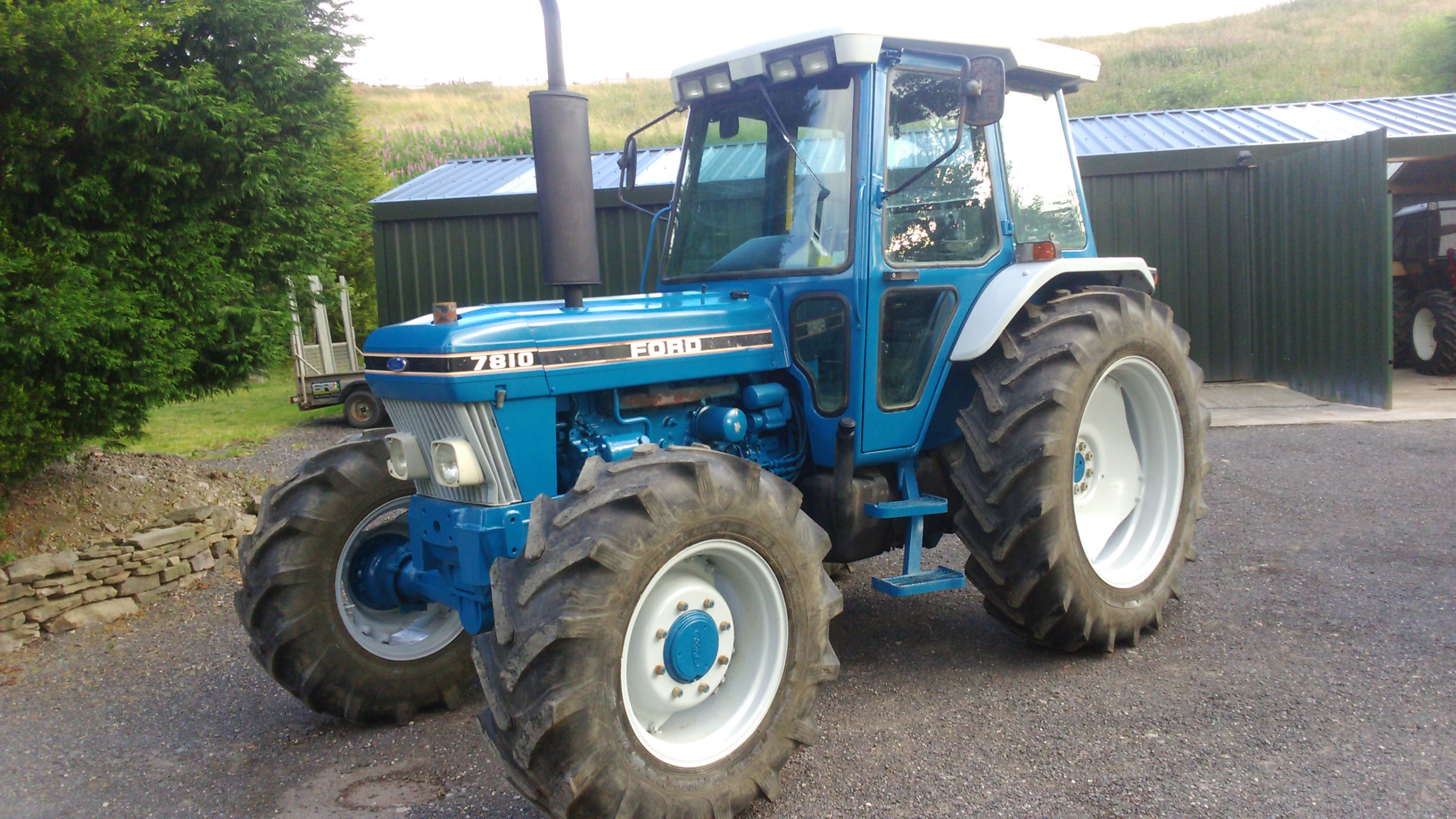 Ford Tractor Airplane : Ford wd tractor reg h p cylinder with