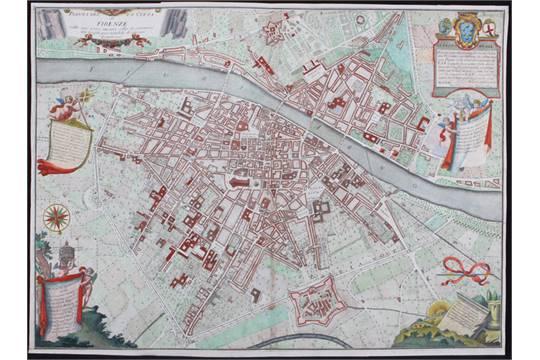 Florenz ruggieri 1731 florenz pianta della citt di firenze auction date altavistaventures Images