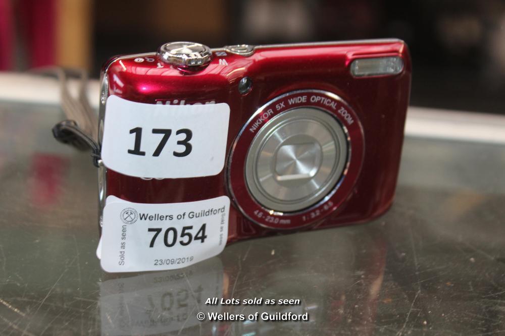 Lot 7054 - *NIKON COOLPLIX L26 [173-23/09]