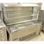 Foster chilled display unit, 1 phase electric
