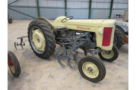 1956 Massey Ferguson 40 Tractor : Ferguson hi cylinder petrol tractor reg no