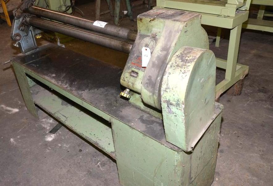 "Lot 46 - ROPER WHITNEY INC. POWER ROLLER 48"" - MD. 3418S/N 149 10 77 - 16-8 TO 18 GA."