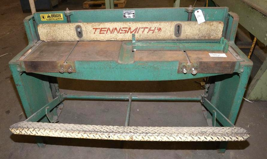 "Lot 26 - TENNSMITH MD. 52"" 52 STOMP SHEAR - S/N 16463-"