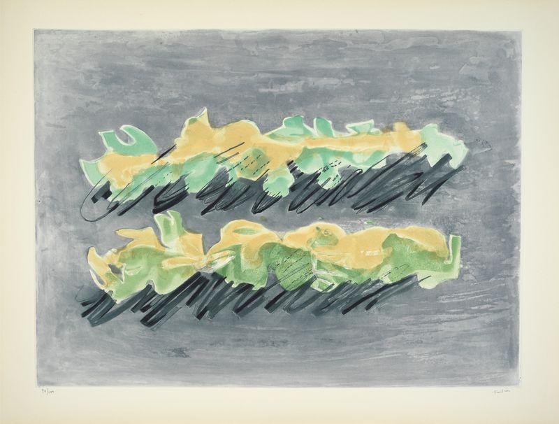 Los 36 - Jean FAUTRIER (1898-1964) - Le Maquis - Aquatinte, lavis sur vélin d'Arches - [...]