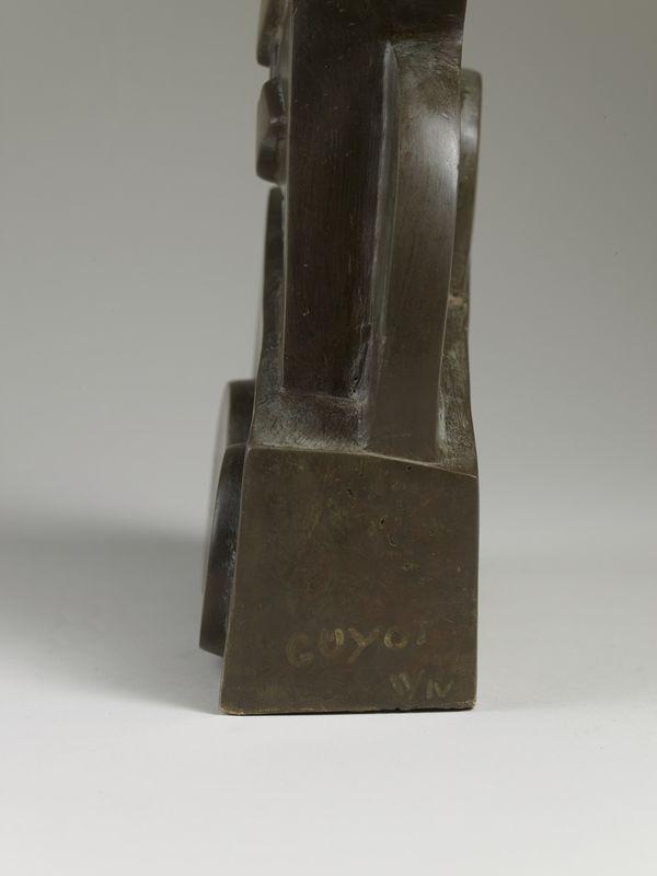 Los 55 - Jacques Henri GUYOT (1946) - Buste de femme - Bronze signé et justifié II/IV - 30 x [...]