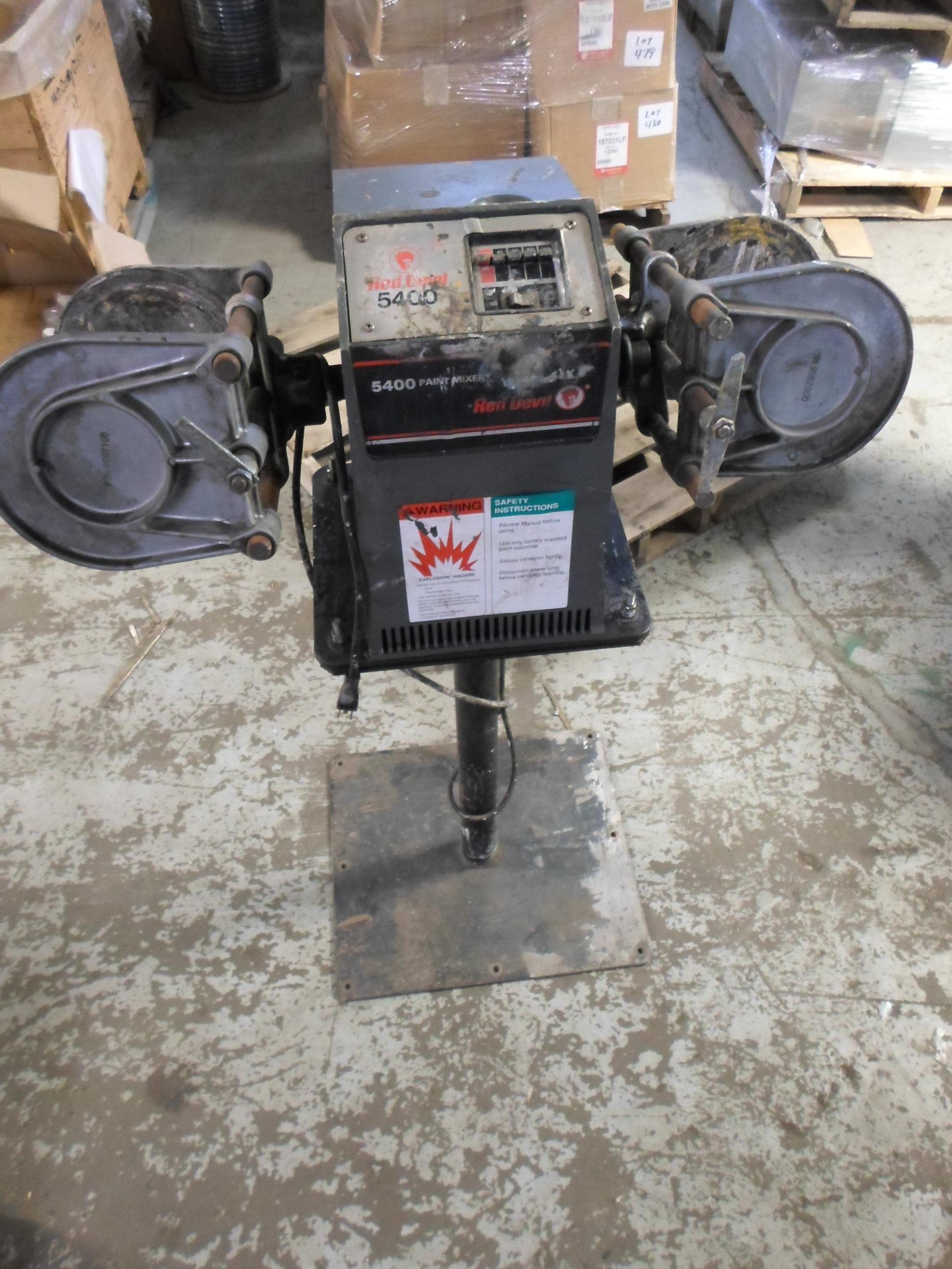 Red Devil 5400 Wiring Diagram Free Download John Deere Dual Arm 2 Gallon Paint Shaker Mixer Pedastal Parts