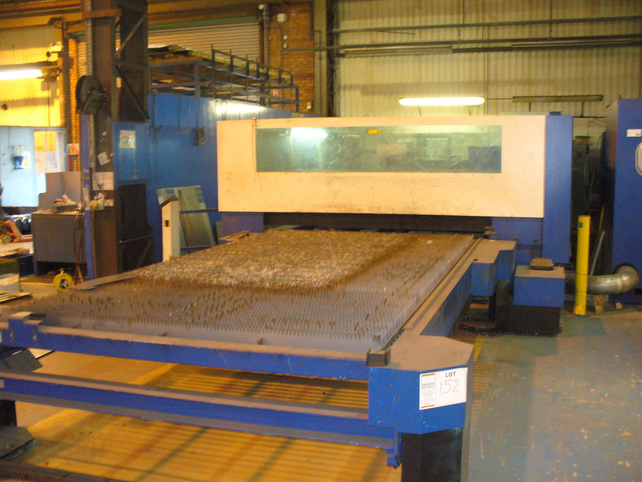 Lot 452 - 2005 Trumpf Trumatic L4050 4m x 2.0m - 6kw LASER PROFILE MACHINE
