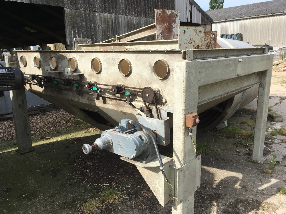 Lot 2 - Allmet Grain King Continuous Flow,oil Fired Grain Dryer.