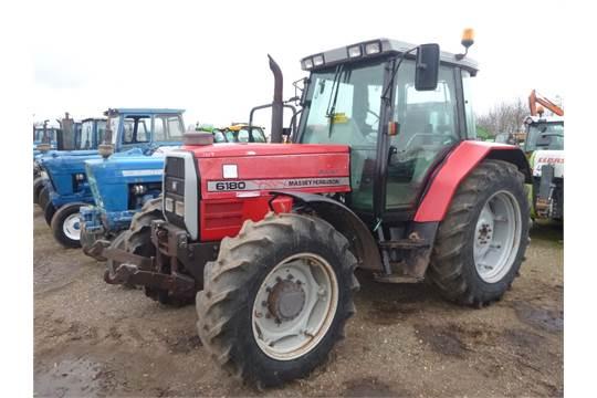 Massey Ferguson 6160 4wd Tractor Reg  No  M597 DRL Ser  No  D124016