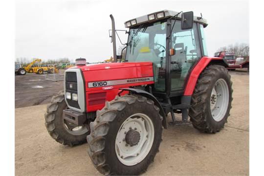 Massey Ferguson 6160 Tractor  5200 hrs