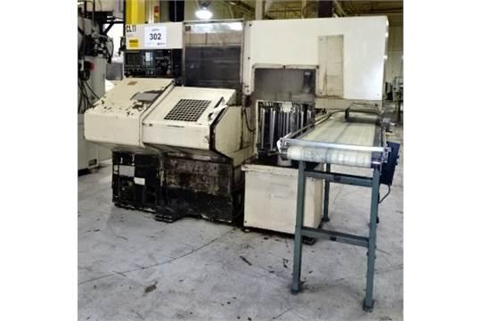 1998 Tecno Wasino Model LG-7 CNC Chucker