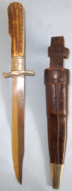 SUPERB, WW2 Era, German Folding Bowie Knife With Rostfrei