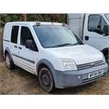 08/08 FORD TRANSIT CONN T210 L75 - 1753cc 6dr Van (White, 62k)