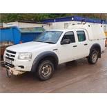 08/58 FORD RANGER D/C 4WD - 2500cc 4dr Pickup (White, 45k)