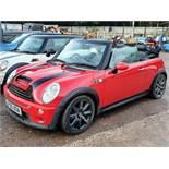 05/05 MINI MINI COOPER S AUTO - 1598cc 2dr Convertible (Red, 68k)