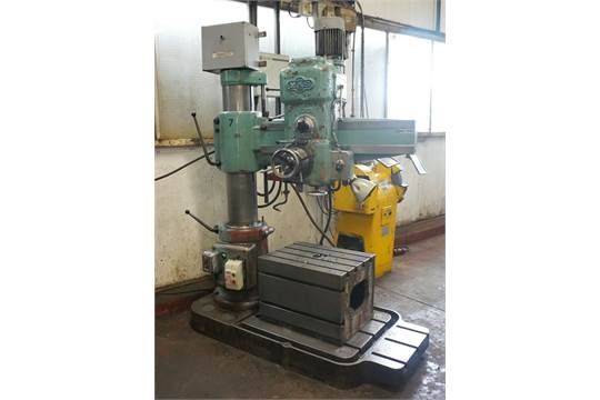 a mas vr2 3ft radial arm drill no 3452 3mt with cast iron box table rh bidspotter co uk