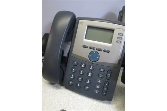 Lot to Include a Quantity of IP Phones and Wireless Headsets