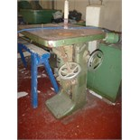 Wadkin Bobbin Spindle Machine. Number JY 901, Test Number 80590.