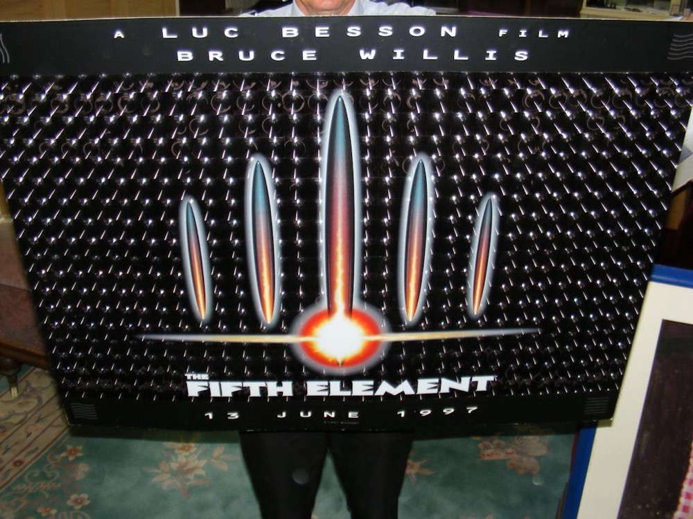 "Lot 58 - An original ""The Fifth Element"" 3D film poster by Gaumont"