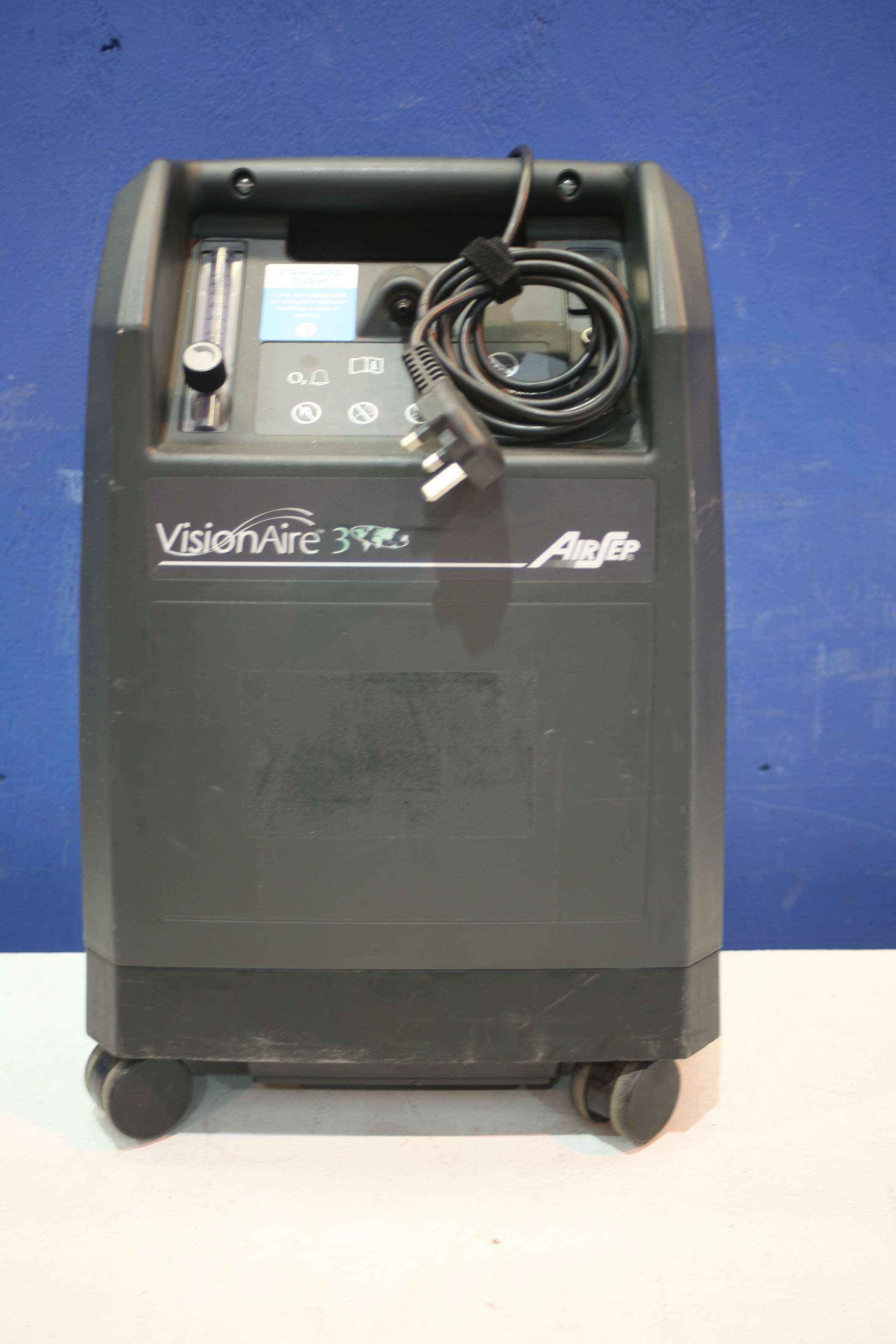 Lot 178 - Airsep Vision Aire 3 Oxygen Concentrator *Powers Up*