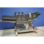 Lot 287 - QA4 Day Surgery Trolley System - Powered *With Remote Control And Mattress* (Tested Working)