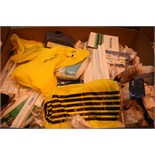 Lot 153 - Job Lot Of Various Consumables Including Microgard Micro Porous Protecive Coveralls,