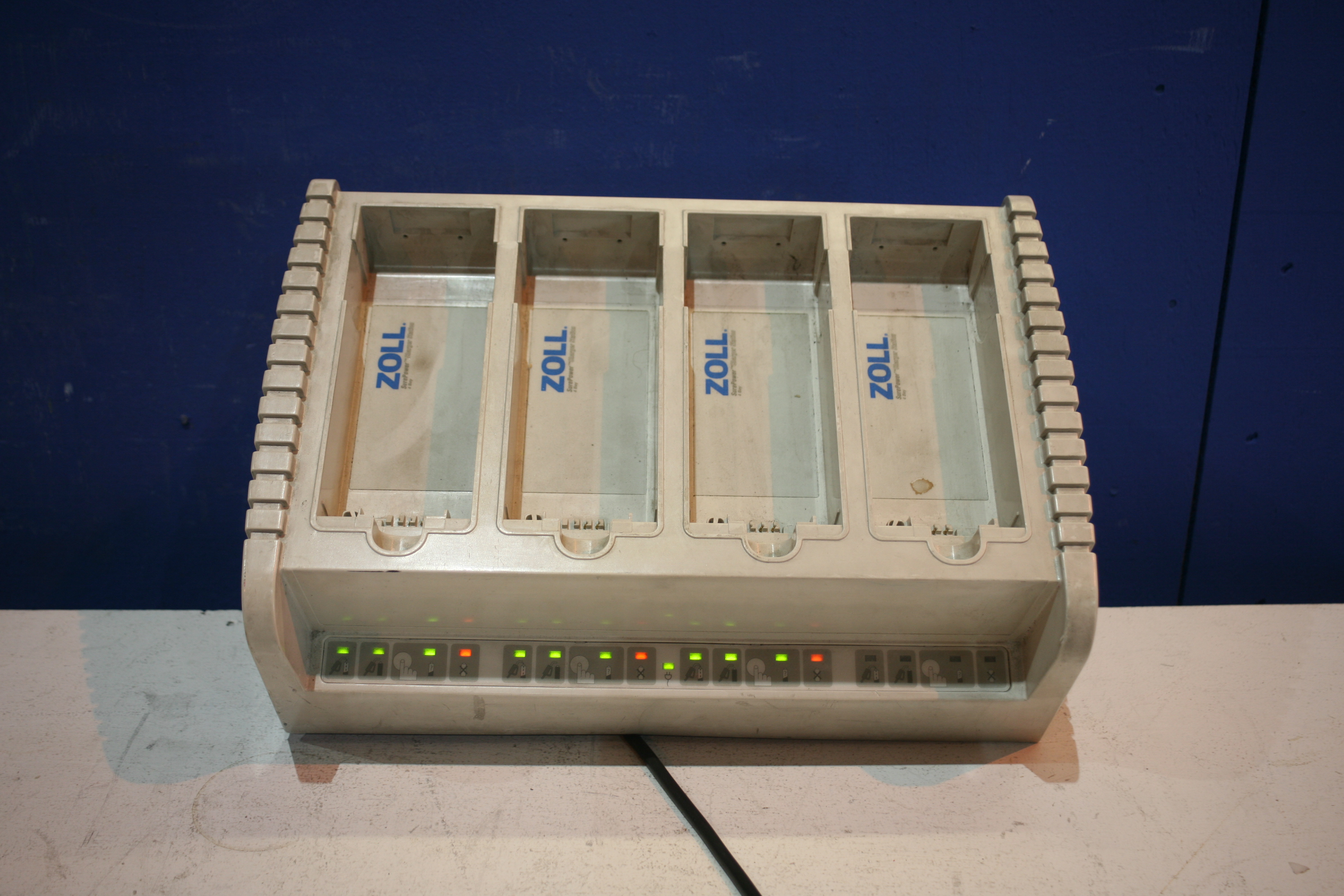 Lot 230 - Zoll Sure Power Battery Charger *Powers Up*